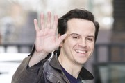 Andrew Scott Arrives at the ITV studios