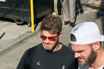 Andrew Taggart Alex Pall And Andrew Taggart Of 'The Chainsmokers' At 'Jimmy Kimmel Live'