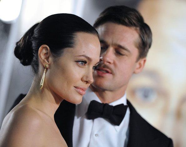 "Angelina Jolie and Brad Pitt - ""The Curious Case of Benjamin Button ..."