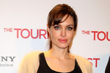 "Angelina Jolie Spanish premiere of ""The Tourist"""
