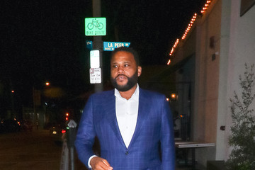 Anthony Anderson Anthony Anderson Outside Craig's Restaurant In West Hollywood