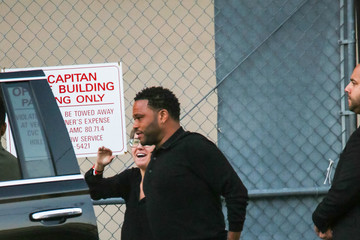 Anthony Anderson Anthony Anderson at 'Jimmy Kimmel Live'