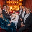 Anthony Delon Celebs at the Grand Hotel in Vienna