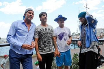 Anthony Kiedis The Chili Peppers in Sydney