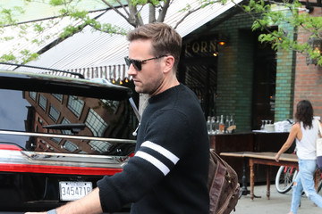 Armie Hammer Armie Hammer In NYC