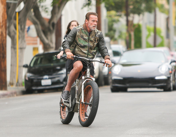Arnold Schwarzenegger Seen In Los Angeles