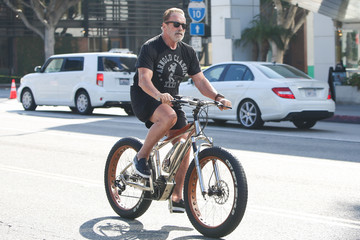 Arnold Schwarzenegger Arnold Schwarzenegger Seen In Los Angeles