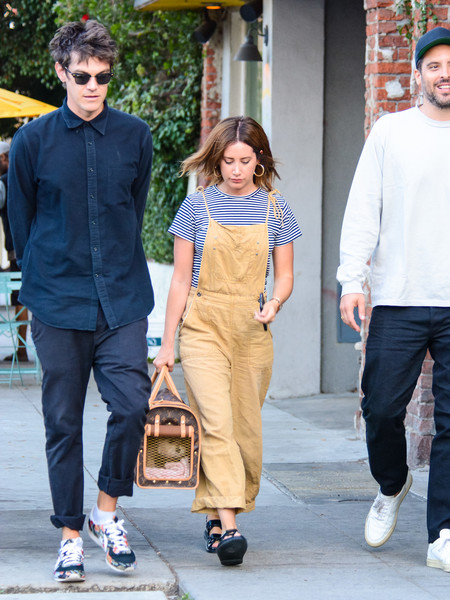 Ashley Tisdale And Christopher French Seen In Los Angeles