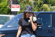 Ashley Tisdale is seen in Los Angeles, California.