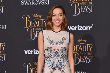 Aubrey Plaza 'Beauty and the Beast' World Premiere
