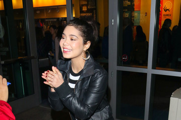 Auli'i Cravalho Auli'i Cravalho Is Seen Outside The 'Come From Away' Opening Night At Ahmanson Theatre