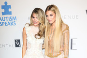 AnnaLynne McCord and Rachel McCord are seen attending Autism Speaks' 'Into The Blue' Gala at Beverly Hills Hotel in Los Angeles, California.