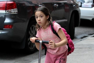 Ava Hugh Jackman Out With His Daughter
