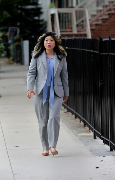 Awkwafina films Comedy Central...