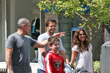 Brooke Burke David Charvet Brooke Burke at the Grove