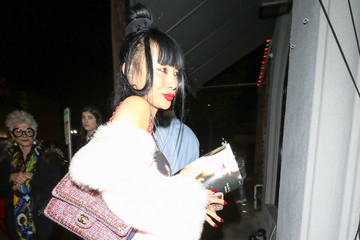 Bai Ling Bai Ling Outside Craig's Restaurant In West Hollywood