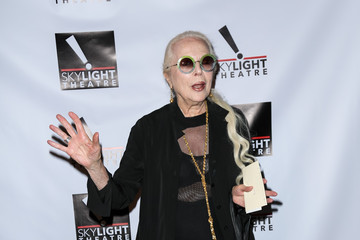 Barbara Bain Celebrities Arrive at Skylight Theatre Complex