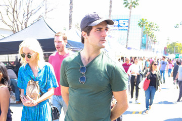 Beau Mirchoff Beau Mirchoff Shops At The Farmer's Market In Studio City