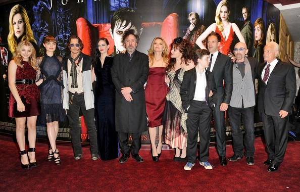 Celebs at the Premiere of 'Dark Shadows' in London 3
