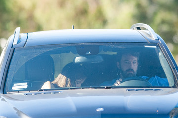 Ben Affleck Ben Affleck and Jennifer Garner Take a Drive Together