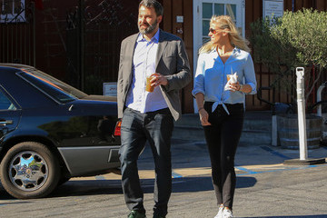 Ben Affleck Ben Affleck and Lindsay Shookus Are Seen Out and About