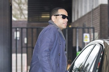 Ben Bailey-Smith Ben Bailey-Smith Arrives at the ITV studios