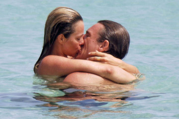 Agathe de la Fontaine Celebrities Kissing