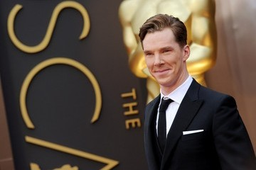 Benedict Cumberbatch Arrivals at the 86th Annual Academy Awards