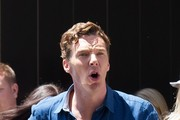 Benedict Cumberbatch Arrives at Comic-Con