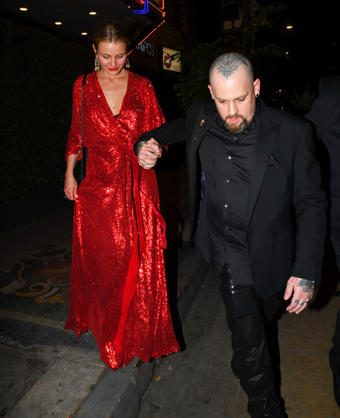 Cameron Diaz And Benji Madden Are Seen Out In Los Angeles []