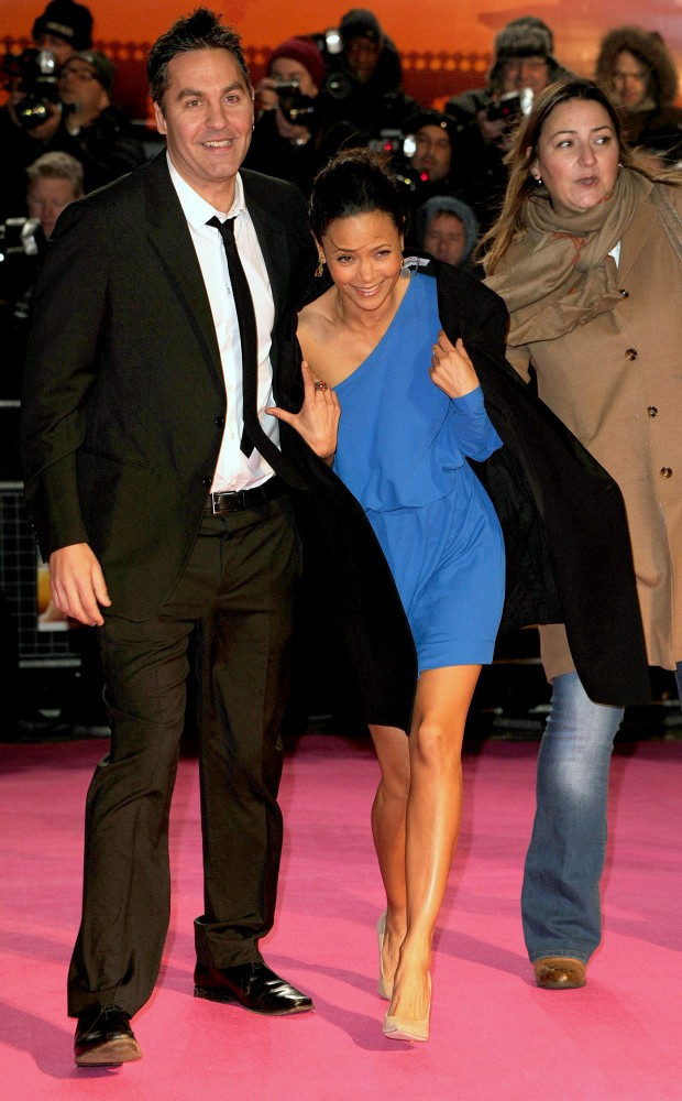 Thandie Newton Ol Parker Thandie Newton And Ol Parker Photos The Premiere Of The Best Exotic Marigold Hotel Zimbio