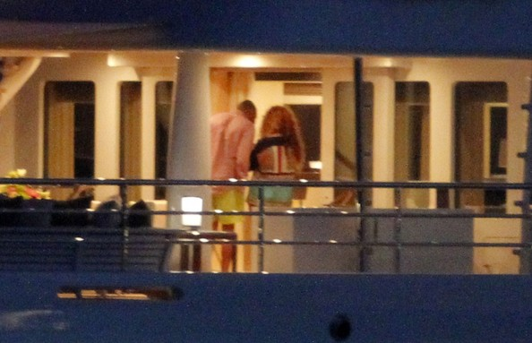 Beyonce and Jay-Z Frolic on a Yacht