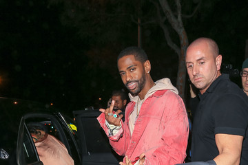 Big Sean Celebrities Step Out for Kendall Jenner's 21st Birthday Party at Catch