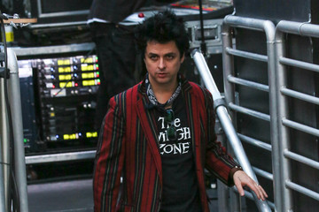 Billie Joe Armstrong Green Day at 'Jimmy Kimmel Live""