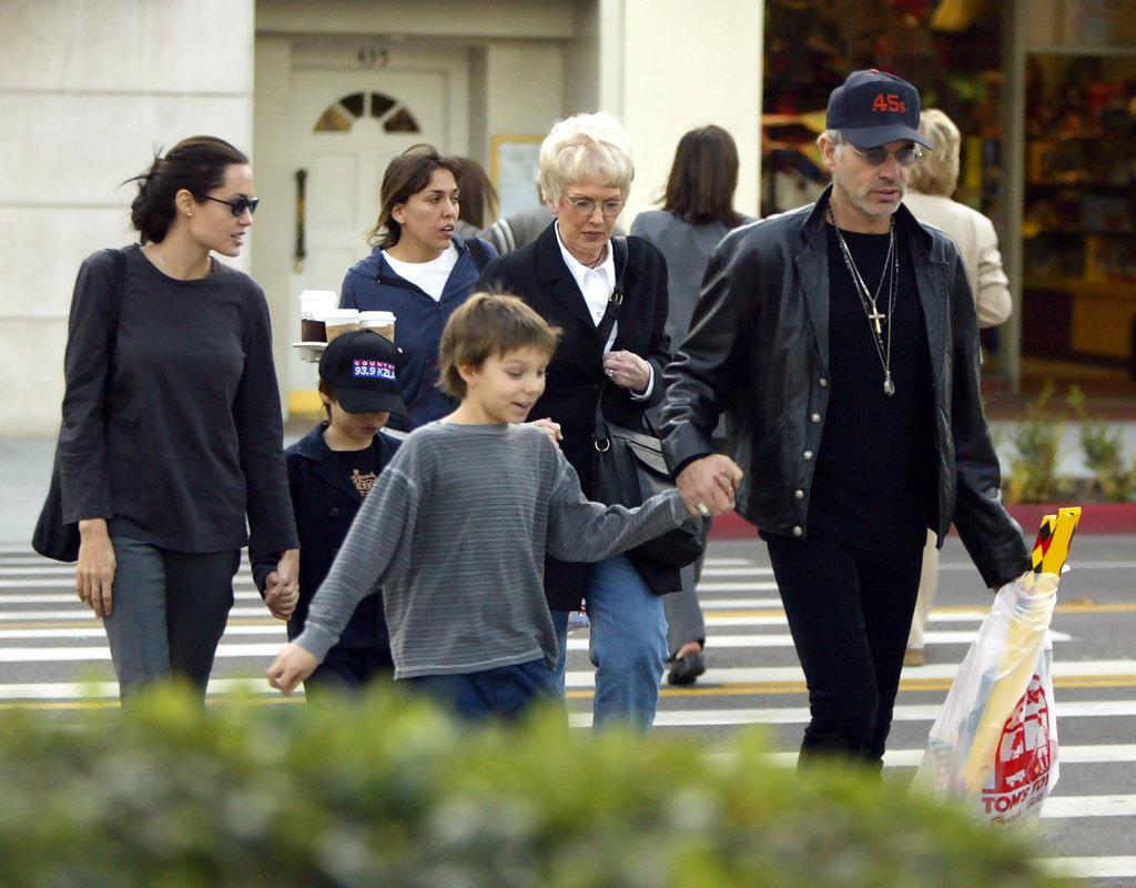Angelina Jolie Billy Bob Thornton Family