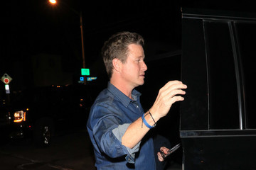 Billy Bush Billy Bush Outside Craig's Restaurant