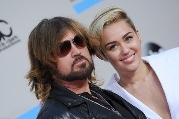 Billy Ray Cyrus Arrivals at the American Music Awards