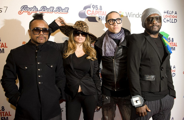28703474bf3 The Black Eyed Peas (Taboo Photos Photos - Celebs at the Jingle Bell ...