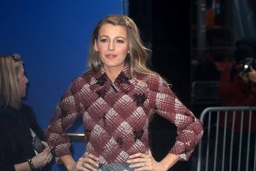 Blake Lively Blake Lively at 'Good Morning America'