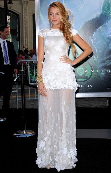 "Blake Lively World Premiere of ""Green Lantern"".Grauman's Chinese, Hollywood, CA."