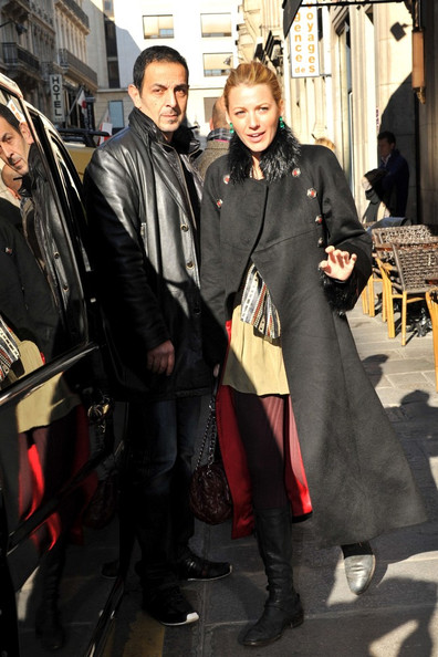 Blake and Louboutin in paris