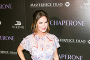 Victoria Hill is seen attending 'The Chaperone' Premiere at the Linwood Dunn Theatere in Los Angeles, California.