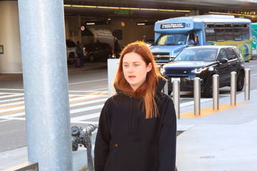 Bonnie Wright Bonnie Wright at LAX