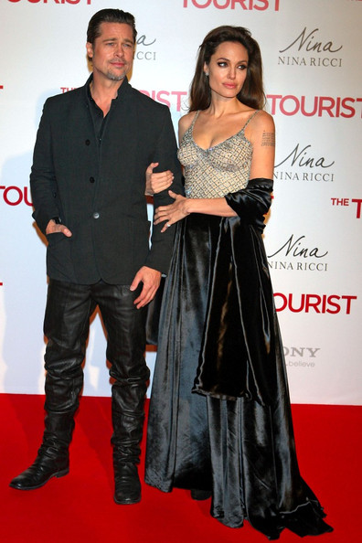 "Brad Pitt ""The Tourist"" photocall at the Villamagna Hotel and the premiere at the Palacio de los Deportes."