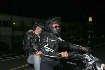 Bradley Cooper Lady Gaga Lady Gaga and Bradley Cooper Ride a Motorcycle