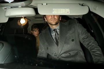 Bradley Cooper Breaks Up With Zoe Saldana, Spotted Leaving the 'Elle' Style Awards With Model Suki Waterhouse