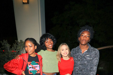 Brady Reiter Jaheem Toombs Jaheem Toombs and Brady Reiter Outside Ultrazone Laser Tag in Sherman Oaks