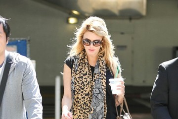 Brandi Glanville Brandi Glanville Seen at LAX
