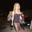 Brandi Glanville Brandi Glanville Outside Craig's Restaurant In West Hollywood