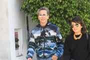 Brian Grazer Is Seen Out In Beverly Hills